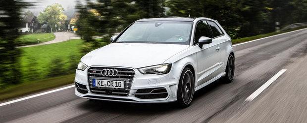 Tuning Audi: ABT transforma noul S3 intr-un rival pentru Mercedes A45 AMG