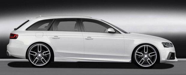 Tuning Audi: Accesorii Caractere pentru noile A4 si S4 Avant