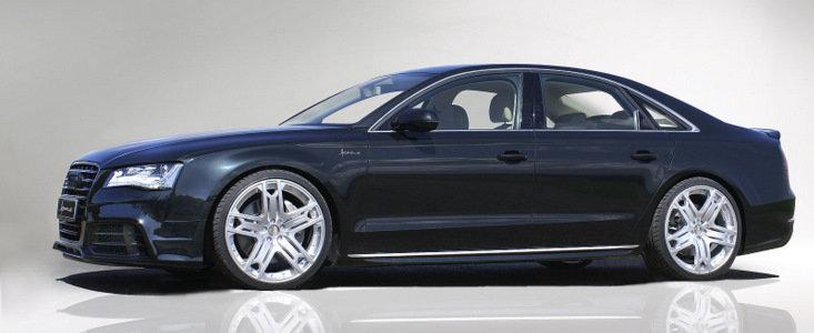 Tuning Audi: Hofele modifica ultima generatie a limuzinei A8
