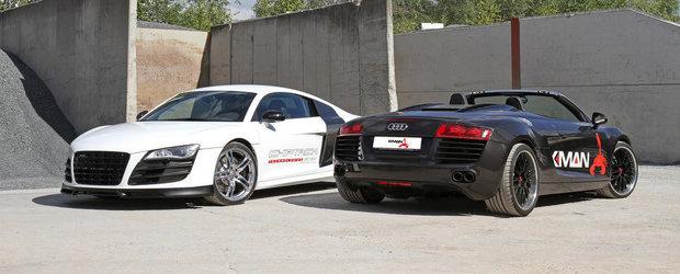 Tuning Audi: K.MAN vine cu un pachet turbo pentru supercarul R8