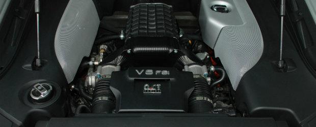 Tuning Audi: Kit de supraalimentare de la O.CT pentru R8 V8