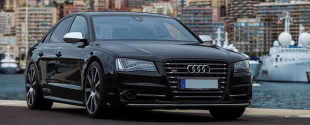 Tuning Audi: MTM ia la modificat actualul S8