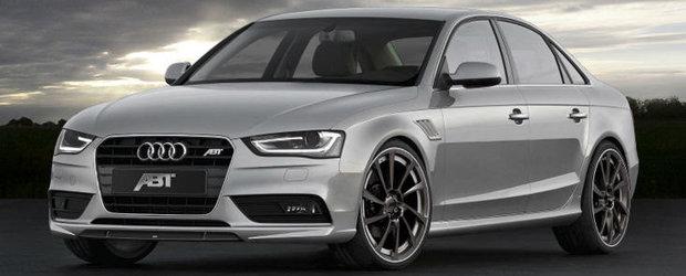 Tuning Audi: Noul ABT AS4 este un Audi A4 cu aroma de RS4