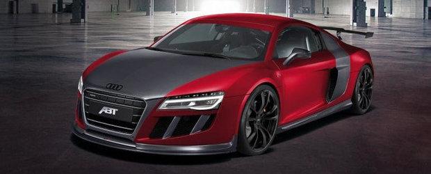 Tuning Audi: Noul ABT R8 GTR promite mai multa putere, mai putina greutate