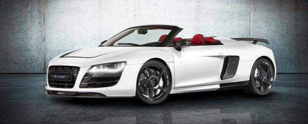 Tuning Audi: Noul R8 V10 Spyder primeste tratamentul Mansory