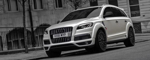 Tuning Audi: Project Kahn s-a pus pe modificat celebrul Audi Q7