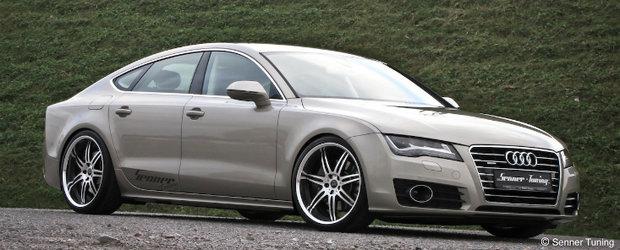 Tuning Audi: Senner modifica noul A7 3.0 TDI