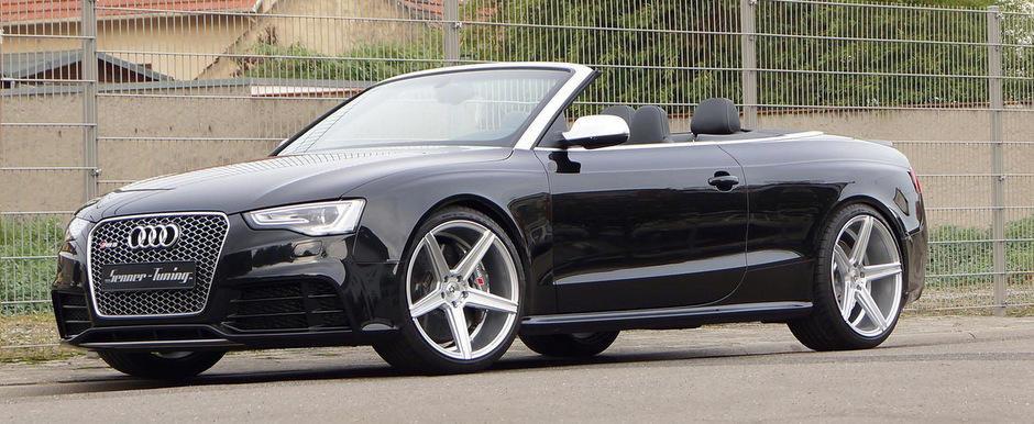Tuning Audi: Senner ne pregateste de vara cu un RS5 Cabrio de 500+ CP