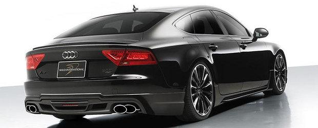 Tuning Audi: Si noul A7 trece de partea Intunericului