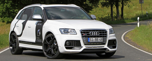 Tuning Audi SQ5 TDI: Primul Audi S diesel primeste un al doilea tuning