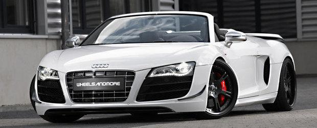 Tuning Audi: Wheelsandmore isi lasa amprenta si asupra noului R8 GT Spyder