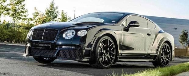 Tuning Bentley: Onyx stoarce pana la 600 CP din noul Continental V8