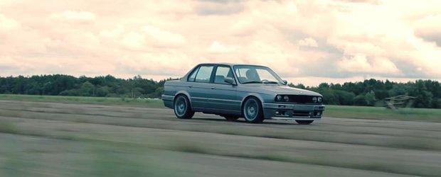 Tuning BMW 344i E30: ursul cu 8 cilindri