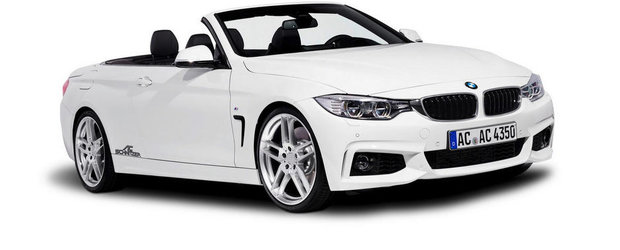 Tuning BMW: AC Schnitzer modifica noua Serie 4 Convertible