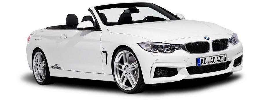 Tuning BMW: AC Schnitzer modifica noua Serie 4 Convertible