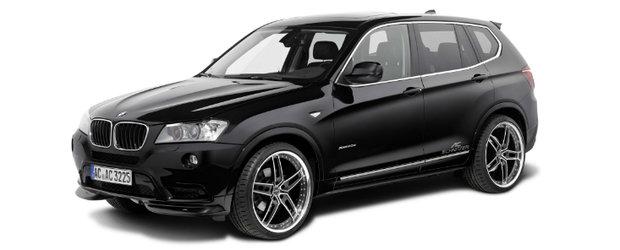 Tuning BMW: Ac Schnitzer modifica noul BMW X3