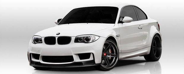 Tuning BMW: Accesorii din carbon pentru micul 1M