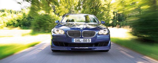Tuning BMW: Alpina B5 Bi-Turbo primeste un plus de putere, dezvolta acum 540 CP