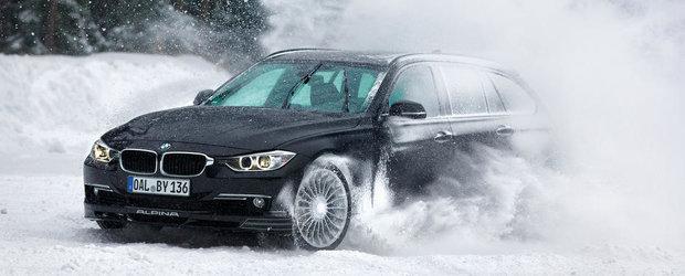 Tuning BMW: Alpina prezinta in actiune si detaliu noile B3 si XD3 BiTurbo