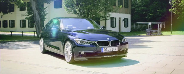 Tuning BMW: Alpina prezinta in actiune si detaliu noul D3 BiTurbo