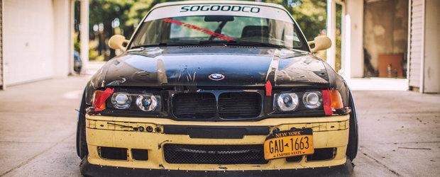 Tuning BMW: cum poti impresiona cu rugina, zgarieturi si murdarie