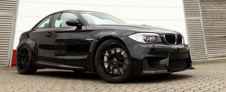 Tuning BMW: Dieta cu carbon si cai putere pentru noul 1M