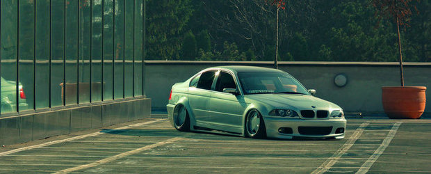 Tuning BMW E46: Stance de Romania by Marius