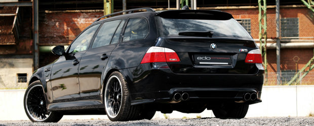 Tuning BMW: edo competition dezvaluie noul M5 Dark Edition