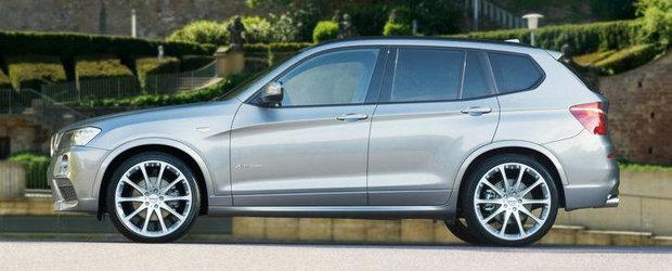 Tuning BMW: Hartge modifica noul X3