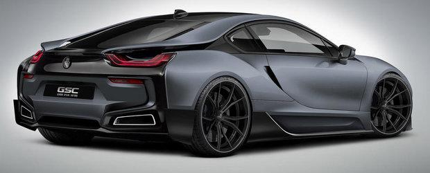 Tuning BMW i8: GSC are planuri marete pentru hibridul bavarez