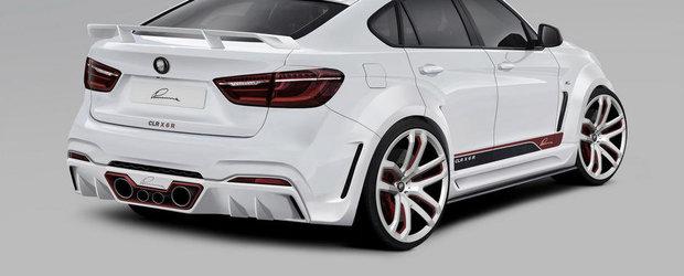 Tuning BMW: Lumma Design socheaza cu un X6 radical modificat