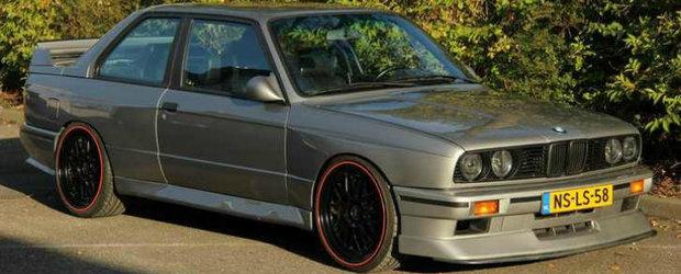 Tuning BMW: M3 E30 cu motor de M5 E34