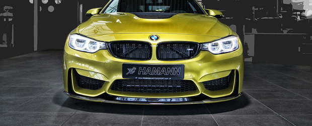 Tuning BMW M4: Hamann anunta noi bunatati pentru super-coupe-ul bavarez