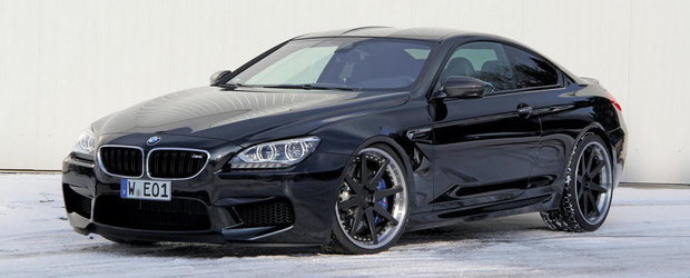 Tuning BMW: Manhart Racing modifica si noul BMW M6
