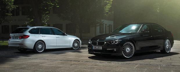 Tuning BMW: Noul Alpina D3 atinge 278 km/h, consuma doar 5.3 litri la 100 km
