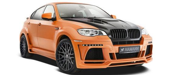 Tuning BMW: Noul Hamann Tycoon II M este un X6 M extrem, capabil de 300 kilometri pe ora!