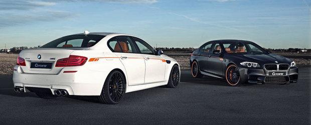 Tuning BMW: Noul M5 trece pe la G-Power, se-alege cu 640 cai putere
