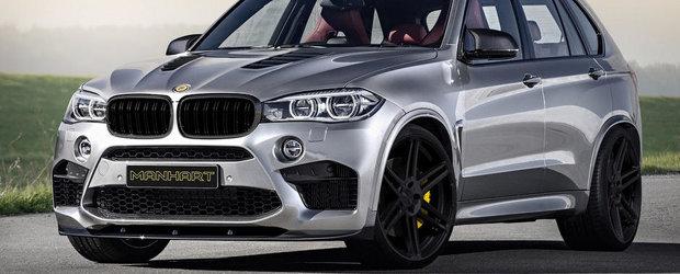 Tuning BMW: Noul Manhart MHX5 750 e un X5 M de 750 CP si 1.000 Nm