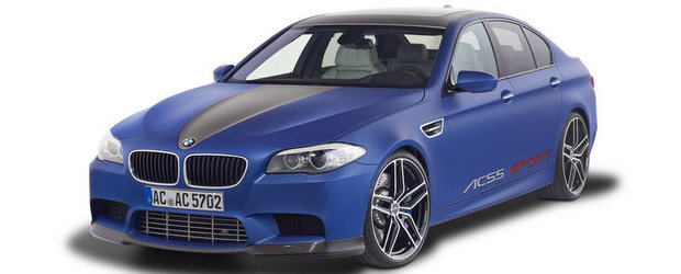 Tuning BMW: (Si) Ac Schnitzer modifica noul M5 F10
