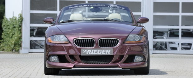 Tuning BMW : Un nou look de la Rieger pentru vechiul Z4