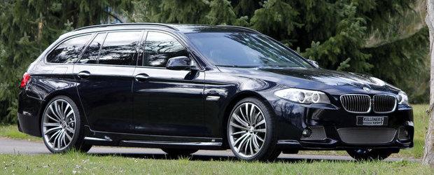 Tuning BMW: Un plus de putere, cateva modificari estetice, iar noul Seria 5 Touring este perfect