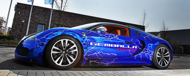Tuning Bugatti: Gemballa electrizeaza exclusivistul Veyron Sang Noir