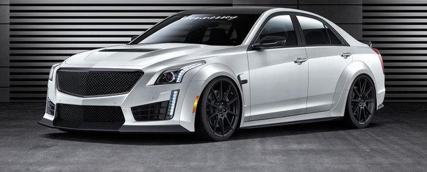 Tuning Cadillac: Hennessey HPE1000 aspira sa devina cel mai rapid sedan al lumii