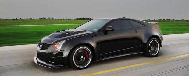 Tuning Cadillac: Hennessey VR1200 Twin-Turbo ne ofera o scurta portie de actiune