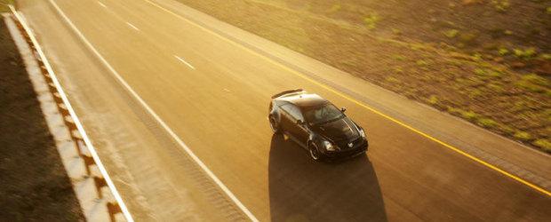 Tuning Cadillac: Hennessey VR1200 Twin-Turbo accelereaza pana la 350 km/h!