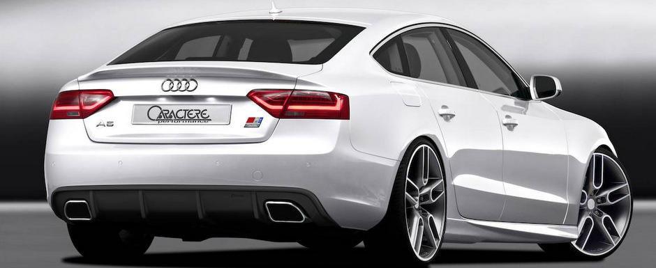 Tuning Caractere: Plus de agresivitate pentru ultimul Audi A5 Sportback