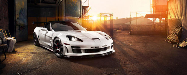 Tuning Chevrolet: 769 CP si 970 Nm pentru cel mai vulgar Corvette ZR1 din istorie!