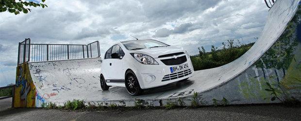 Tuning Chevrolet: Bunatati de 5.000 de euro pentru micul Spark