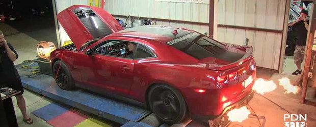 Tuning Chevrolet: Cum ia nastere un Chevy Camaro de 800 cai putere
