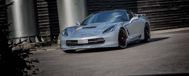 Tuning Chevrolet: Europenii supraalimenteaza noul Corvette Stingray